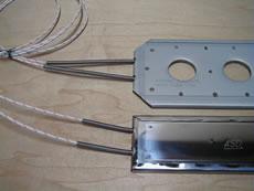スペースヒーター スプリング保護タイプ